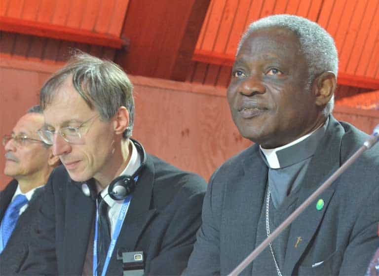 CEES Faculty Interviews Vatican Official on Climate Change