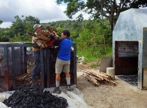 CEES studying biochar in the Amazon